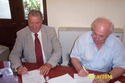 Semnarea Acordului de Cooperare intre ASE si IRSEA