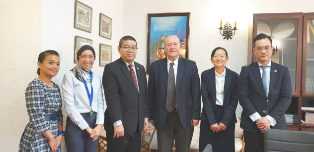 IRSEA's President and Founder, H.E. Ambassador (p) Gheorghe Săvuică, Meets H.E. the Malaysian Ambassador Abdullah Zawawi bin Tahir