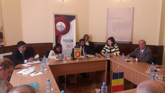 IRSEA's President and Founder, H.E. Ambassador Gheorghe Săvuică, meets official delegation of Sri Lanka