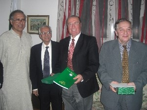 IRSEA's President and Founder Delivers Key Note Speech at the Pakistani Embassy in Bucharest