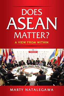 "Book release by Indonesian diplomat, Marty Natalegawa - ""Does ASEAN Matter? A View from Within"""