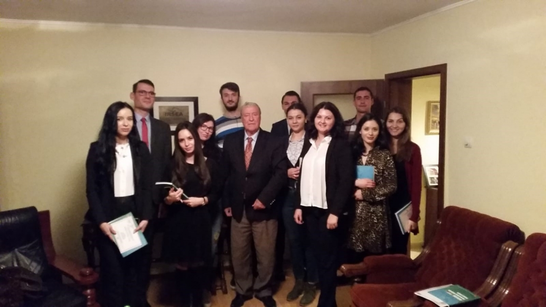 Undergraduate students of Bucharest University of Economic Studies successfully complete IRSEA's Applied Diplomacy Course
