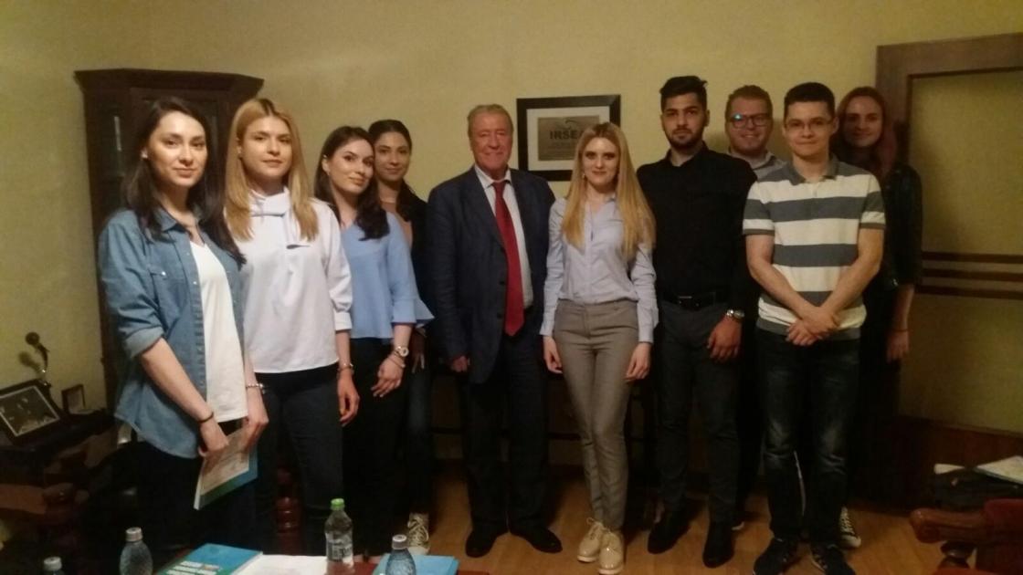 Undergraduate students of Bucharest University of Economic Studies successfully complete IRSEA's Applied Diplomacy Course