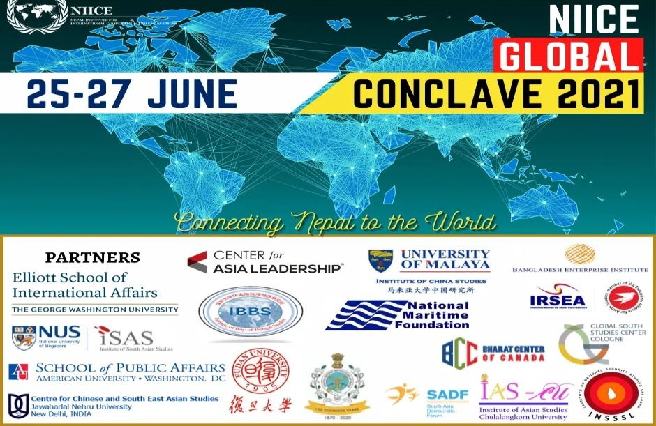 IRSEA partners with Nepal Institute for International Cooperation and Engagement (NIICE) to organise NIICE Global Conclave 2021