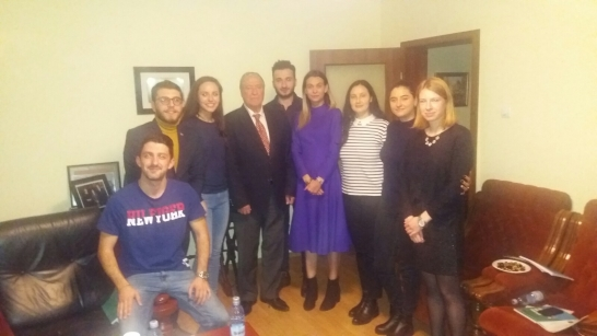 IRSEA's President and Founder, H.E. Ambassador Gheorghe Săvuică, successfully holds the Applied Diplomacy course of 2018
