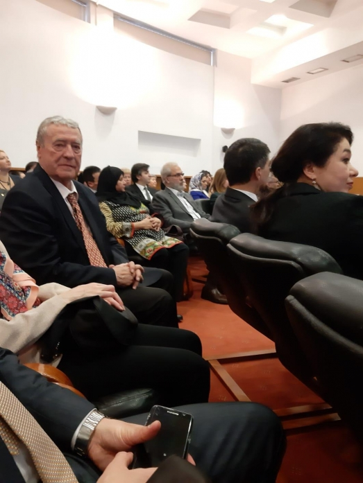 IRSEA's President and Founder, H.E. Ambassador Gheorghe Săvuică, attends cultural programme at the Village Museum
