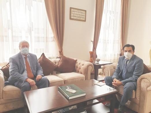 IRSEA's President and Founder, H.E. Ambassador (p) Gheorghe Săvuică, Meets H.E. the Pakistani Ambassador Zafar Iqbal
